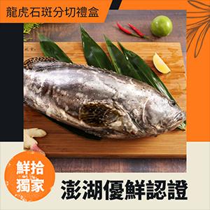 澎湖漁會龍虎石斑分切禮盒2.7kg